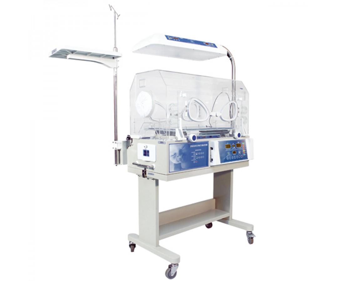 由暖箱和led上蓝光治疗仪两部分组成