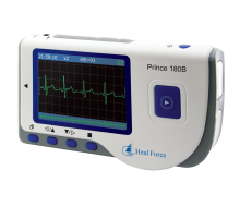 Easy ECG Monitor -- Prince-180B (B1) (Continuous Measurement, Bluetooth optional)