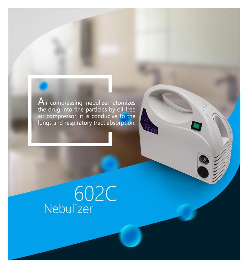 Air Compressing Nebulizer 602c Healthcare Equipment